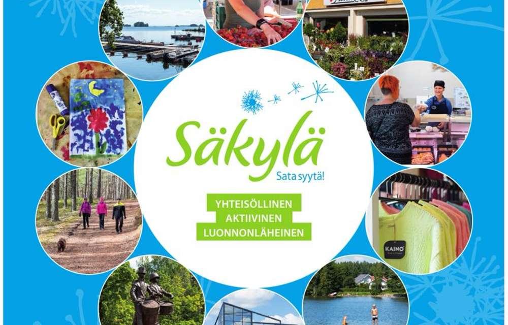 Säkylän kuntaesitteen kansikuva